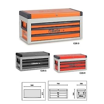 C22 S-R Beta Portable Tool Chest With Three Drawers