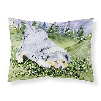 Australian Shepherd Moisture wicking Fabric standard pillowcase