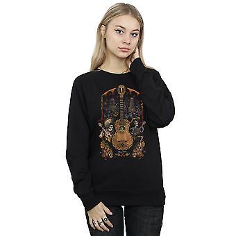 Coco guitare affiche Sweatshirt Disney féminin