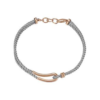 Joop women's chain necklace stainless steel Rosé silhouette JPNL10593B420
