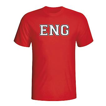 England Country Iso T-shirt (red)