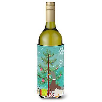 Saxony Sachsenente Duck Christmas Wine Bottle Beverge Insulator Hugger