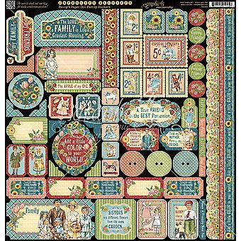 Penny's Paper Doll Cardstock Stickers 12