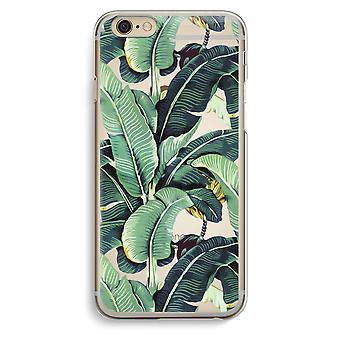 Iphone 6 6s Transparent Case (Soft) - Banana leaves