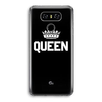 LG G6 Transparent Case - Queen black