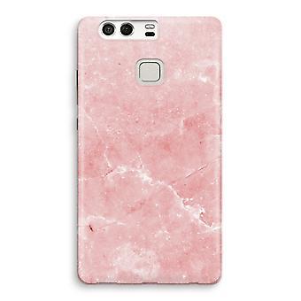 Huawei P9 Full Print Case - Pink Marble