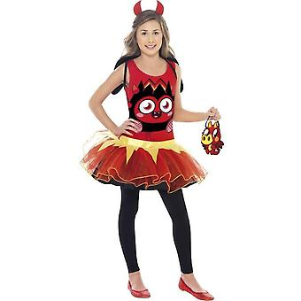 Children's costumes  Moshi monster costume Diavlo Costume for girls