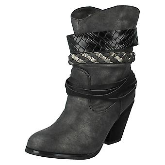 Ladies Spot On Cowboy Boots F50204