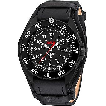 KHS watches mens watch enforcer black steel KHS. ENFBS. R
