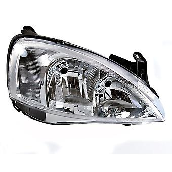 Right Headlamp for Vauxhall COMBO 2002-2006