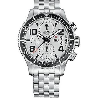 Swiss military mens watch automatic chronograph A5. ST2222M/T / SMA30005. 06