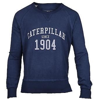 Caterpillar Mens 1904 Logo Long Sleeve Casual Jumper Sweater