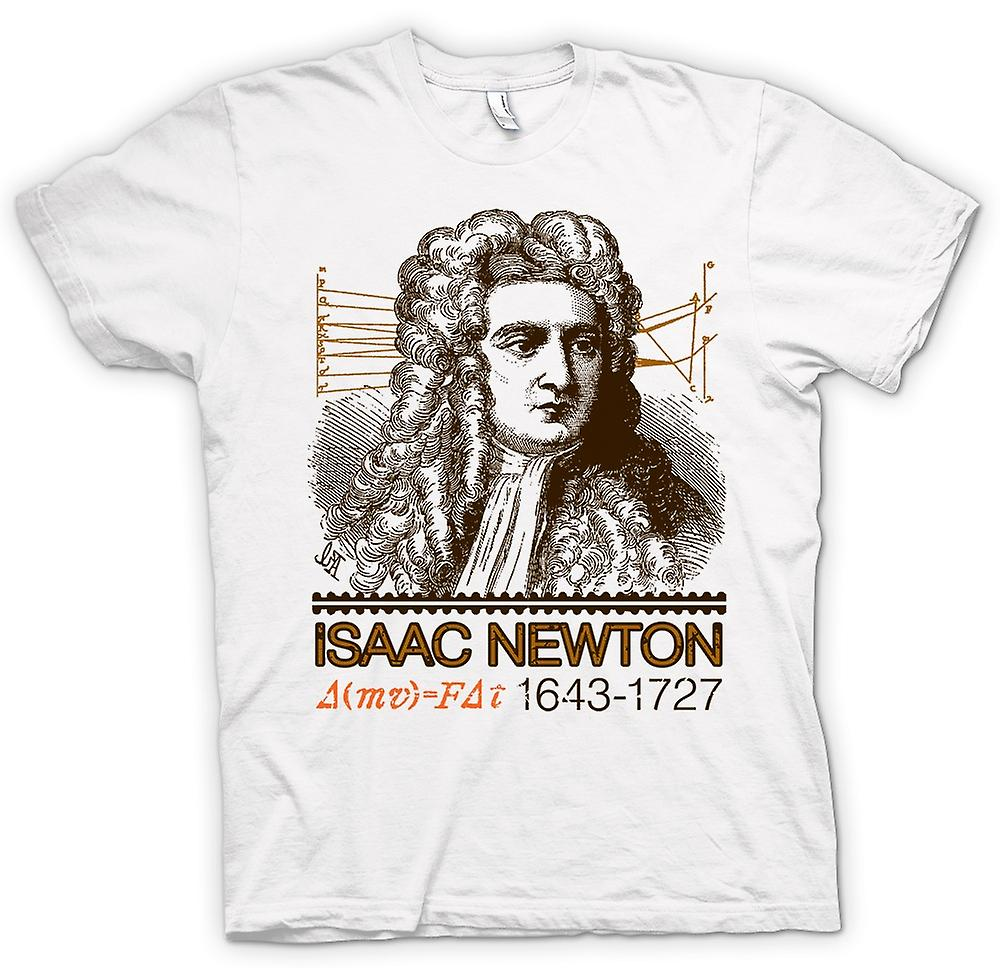 Femmes T-shirt - Isaac Newton scientifique 1643 - 1727 - Icon