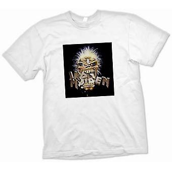 Womens T-shirt - Iron Maiden - Eddie Eating Words