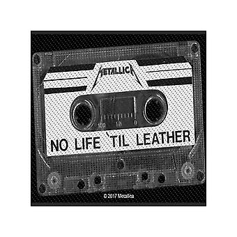 Metallica Patch No Life Til Leather Band Logo new Official woven sew on