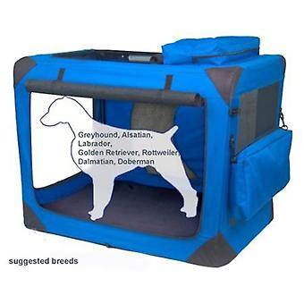 Valentina Valentti Dog Folding Canvas Carrier Transport Soft Crate