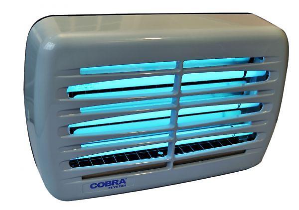 Electric Fly Killer | Genus® Cobra | 45 Watt | Grey | Shatterproof Tubes