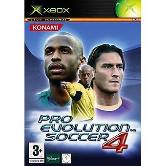 Pro Evolution Soccer 4 (Xbox)