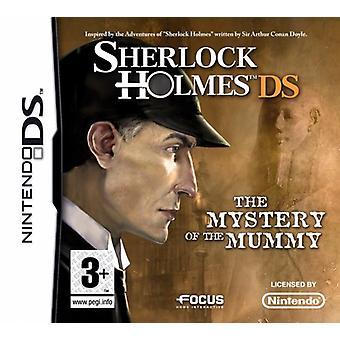 Sherlock Holmes mysteriet med Mumien (Nintendo DS)