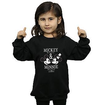 Disney Mädchen Mickey und Minnie Mouse-Mousecrush-montags-Sweatshirt