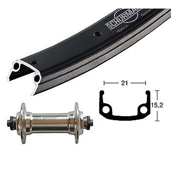 Bike parts 26″ wheel Schürmann sport + standard aluminium hub (QR)