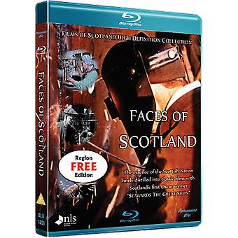 Faces of Scotland Blu-ray