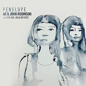 Robinson * John & Ag af Ditc - Penelope [Vinyl] USA importerer