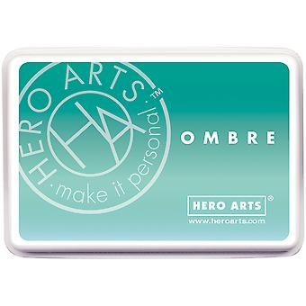 Hero Arts Ombre Ink Pad-Mint To Green