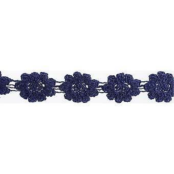 Crocheted Floral Trim 1-1/8