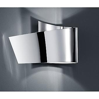 Trio Lighting Flesso Modern Chrome Metal Wall Lamp