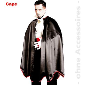 Homens de costume Sr. Drácula capa de vampiro Conde Drácula traje de morcego