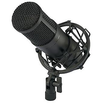 Renkforce CU-4 USB studio microphone Corded incl. cable, incl. hard case, incl. shock mount