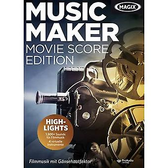 Magix Music Maker Movie Score Edition Full version, 1 license Windows Music
