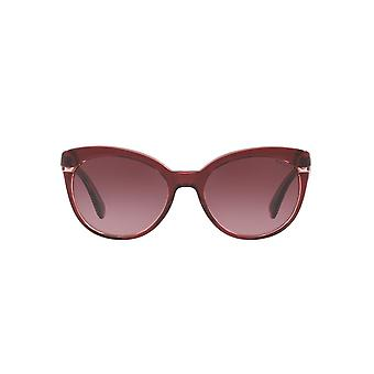 Ralph By Ralph Lauren Two Tone Cateye Sunglasses In Burgundy Violet