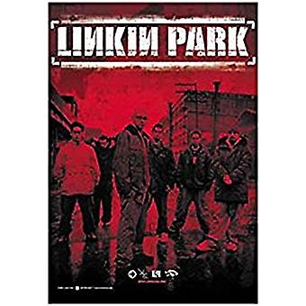 Linkin Park Large Textile Poster 1100Mm X 750Mm