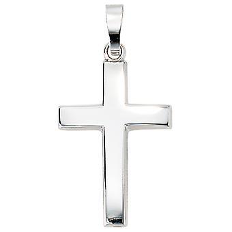Kreuz Anhänger weißgold 585 CHANDRA Christuskreuz