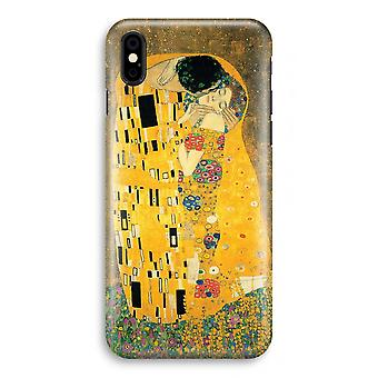 iPhone XS Full Print Case (Glossy) - Der Kuss