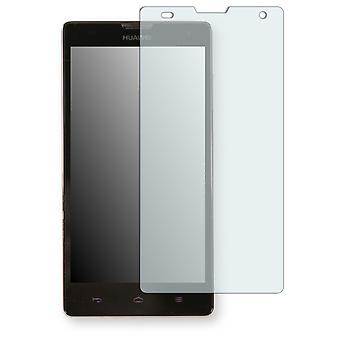Huawei Ascend G740 screen protector - Golebo-semi Matt protector