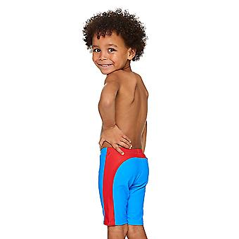 Zoggs Boys' Superman Pogo Mini Jammer, Blue/Red