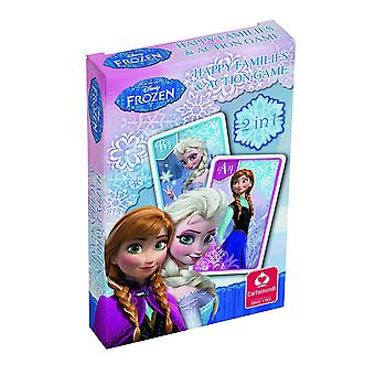 Frozen Happy Families Card Game