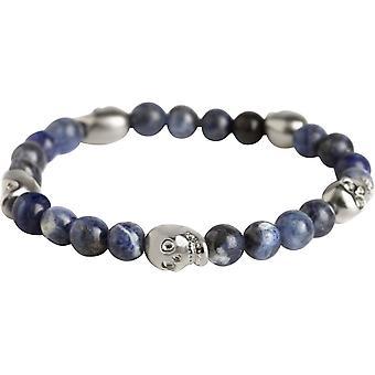 Simon Carter Sodalite Skull Bead Bracelet - Blue