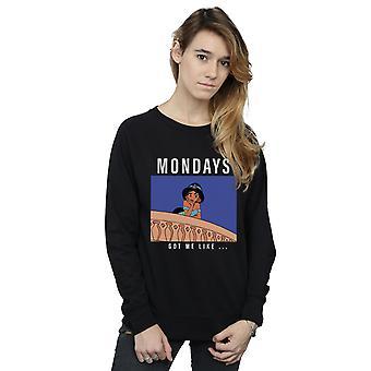 Disney Princess kvinnors Jasmin måndagar fick mig gillar Sweatshirt