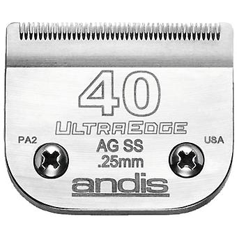 Andis UltraEdge Stainless Steel Blade. S-40 (Special Surgery)