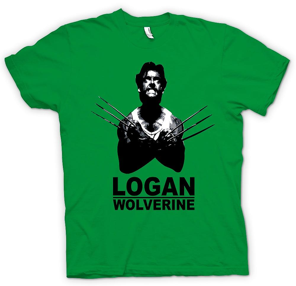 Herr T-shirt - Logan Wolverine - X - Men - Comic