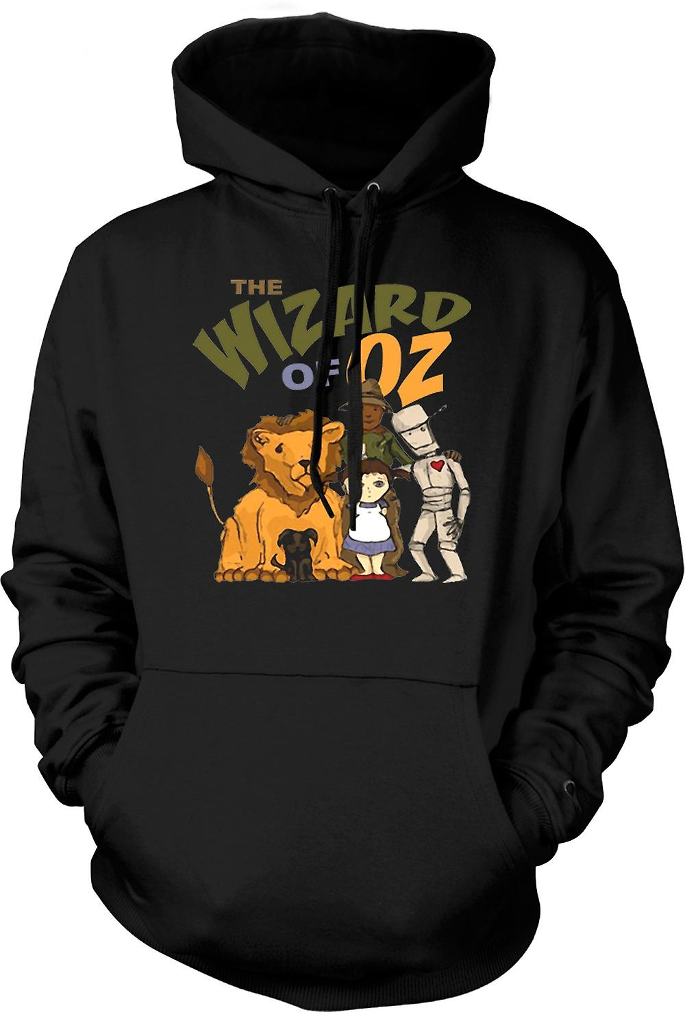 Mens Hoodie - Wizard Of Oz Dorothy Tin Man