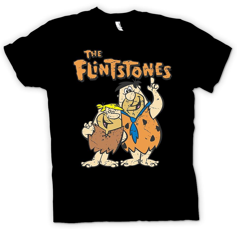 Enfants T-shirt - les Pierrafeu - Fred et Barney - Cool Cartoon