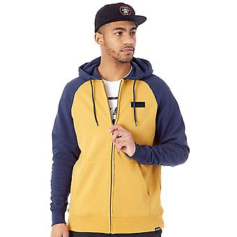 Etnies Navy-Gold Core Icon Zip Hoody