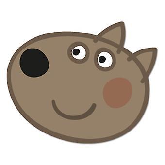 Perro de Danny tarjeta mascarilla (Peppa Pig)