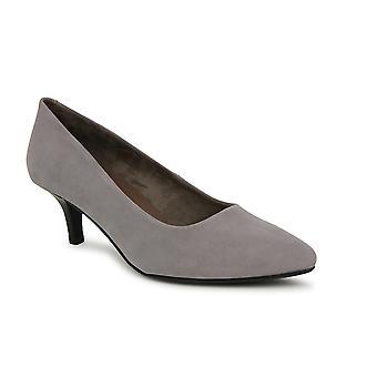Liberitae Zapatos De Salón Salón Bajo Punta Fina En Sintético Gris 21719467-02