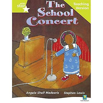 The School Concert: Lime Level (Rigby Star Guided)